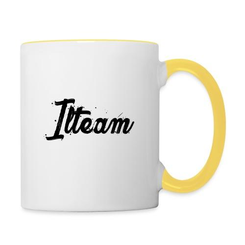 Ilteam Black and White - Mug contrasté