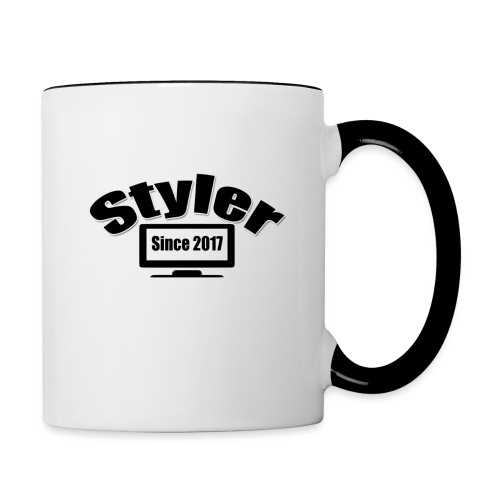 Styler Designer Kleding - Mok tweekleurig