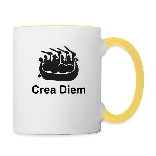 Crea Diem - Tvåfärgad mugg