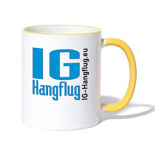 IG-Hangflug - Tasse zweifarbig