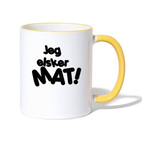 jeg_elsker_mat_2 - Tofarget kopp