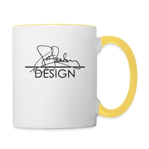 sasealey design logo png - Contrasting Mug
