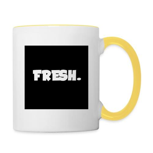 FreshTube Mok - Mok tweekleurig
