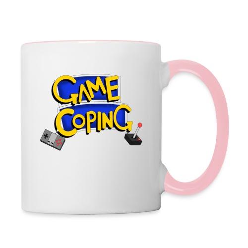 Game Coping Logo - Contrasting Mug