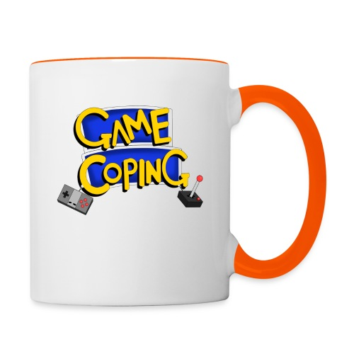 Game Coping Logo - Contrasting Mug