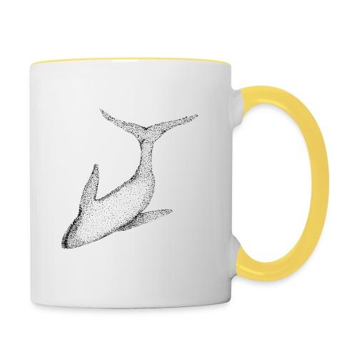 baleine - Mug contrasté