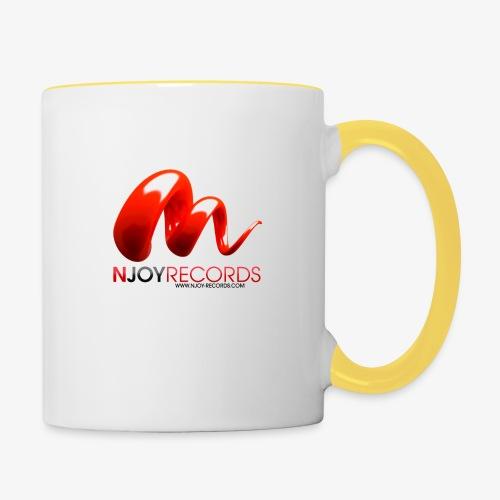 Logo Njoy Records Noir - Mug contrasté