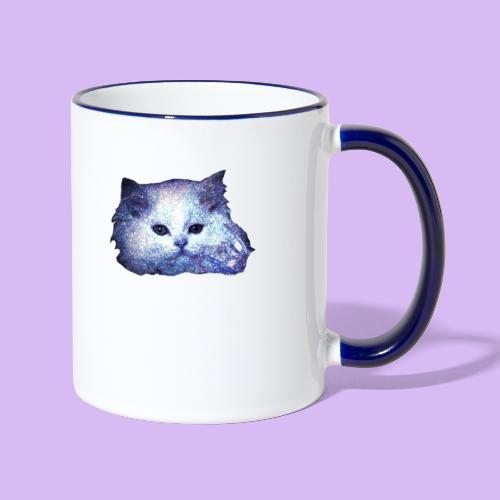 Gatto glitter - Tazze bicolor