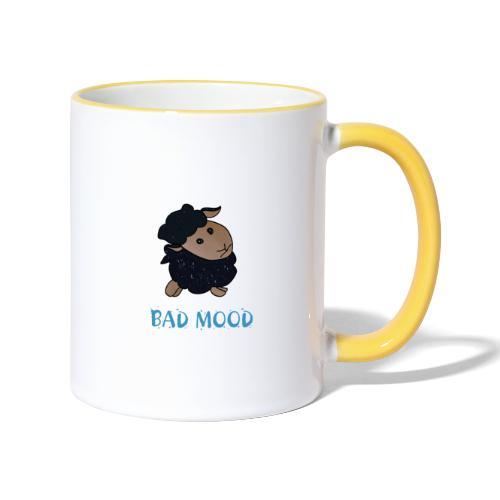 Badmood - Gaspard le petit mouton noir - Mug contrasté