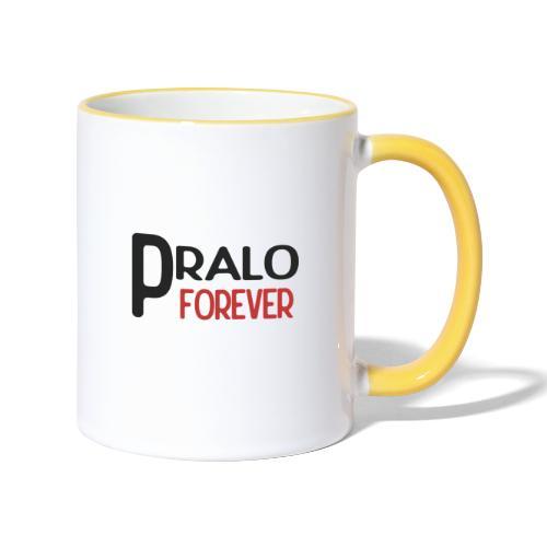 pralo forever noir et rouge - Mug contrasté