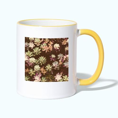 Botanical Garden Watercolor Beige - Contrasting Mug