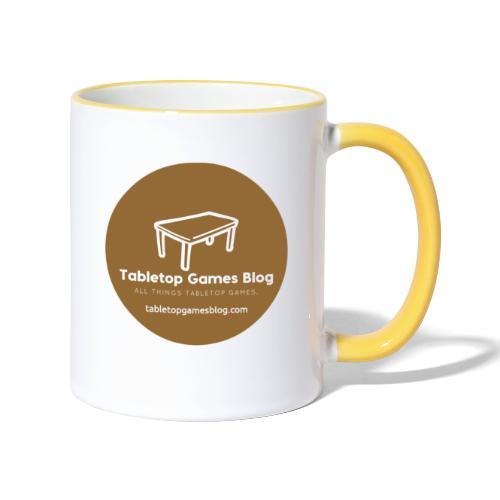 Circle Logo Brown - Contrasting Mug
