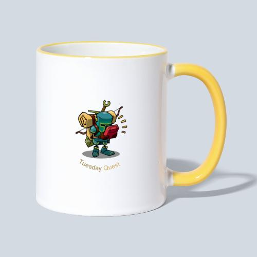 Tuesday Quest Logo - Mug contrasté