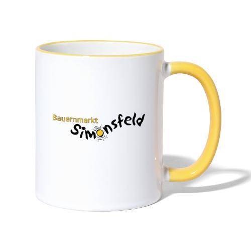 bauernmarkt_simonsfeld - Tasse zweifarbig
