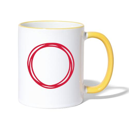 Circles and circles - Contrasting Mug