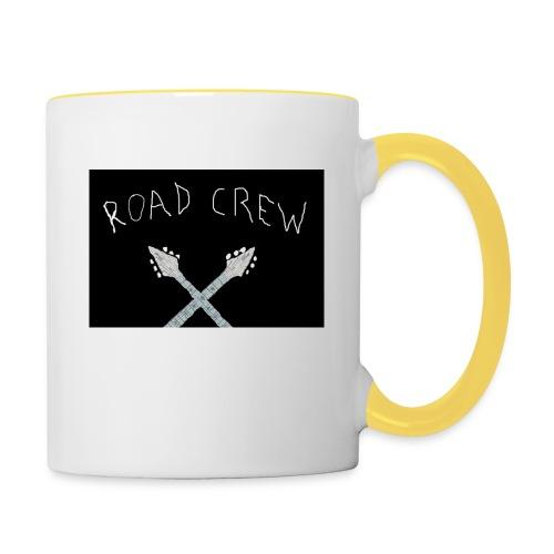Road_Crew_Guitars_Crossed - Contrasting Mug