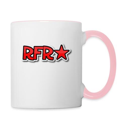 rfr logo - Kaksivärinen muki