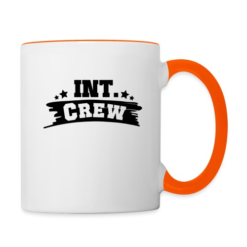 International Crew T-Shirt Design by Lattapon - Tofarvet krus