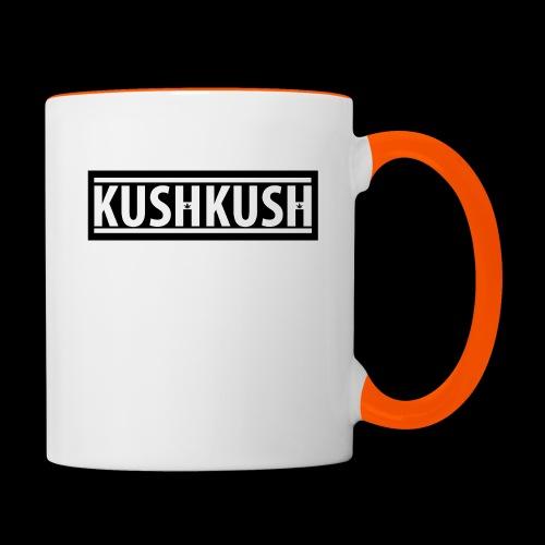 KUSHKUSH - Mok tweekleurig