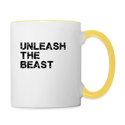 UnleashTheBeast - Mug contrasté