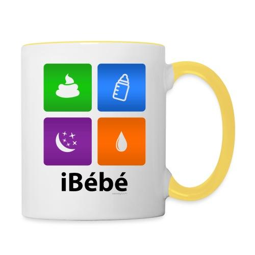 iBébé - Mug contrasté