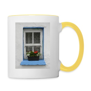 Cashed Cottage Window - Contrasting Mug