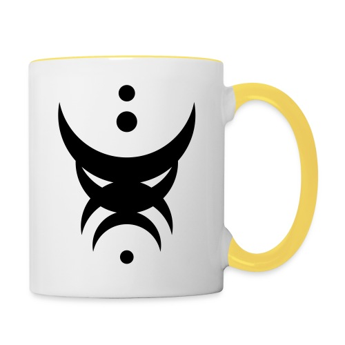 Mask 1 - Tasse zweifarbig