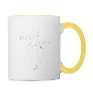 treble_maker-white - Contrasting Mug