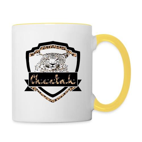Cheetah Shield - Contrasting Mug