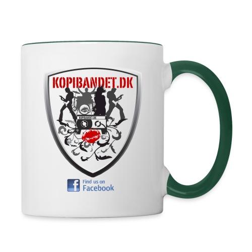 KopiBandet.DK find us on facebook - Tofarvet krus