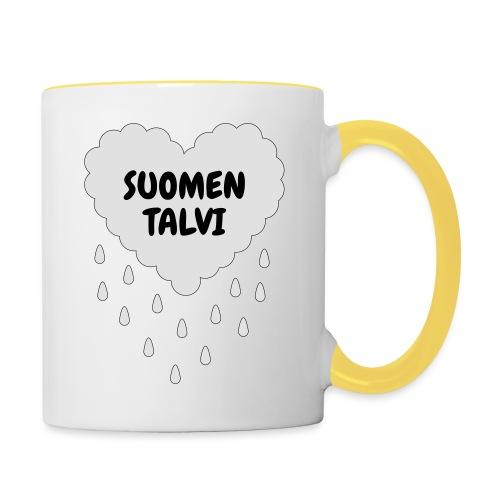Suomen talvi - Kaksivärinen muki