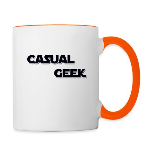 CasualGeek Standard Logo - Contrasting Mug