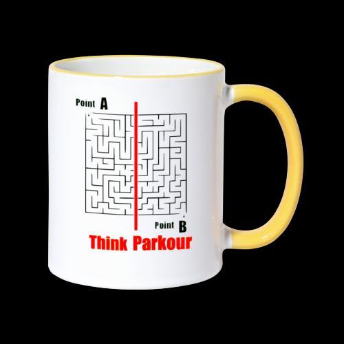 maze - Contrasting Mug