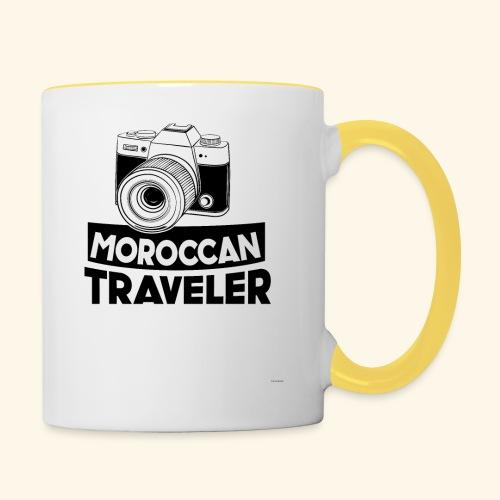 Moroccan Traveler - Mug contrasté