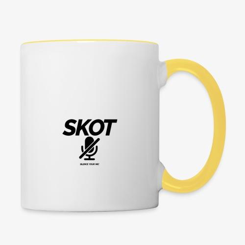 SKOT - Silence Your Mic - Mok tweekleurig