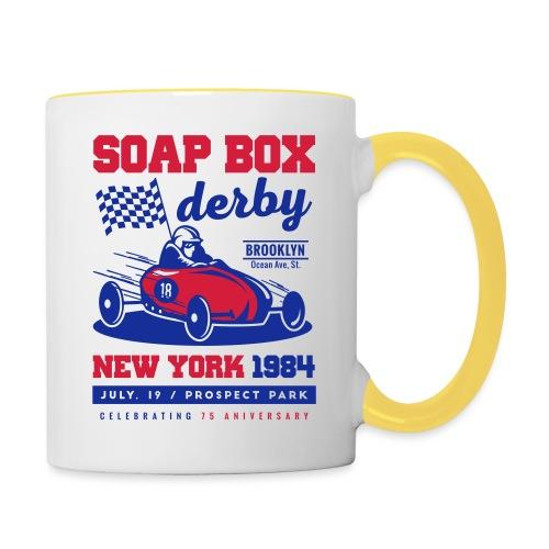 SoapBox NewYork - Taza en dos colores