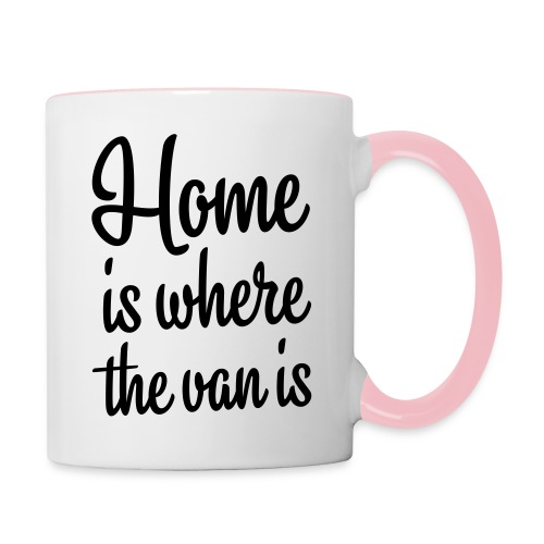 Home is where the van is - Autonaut.com - Contrasting Mug
