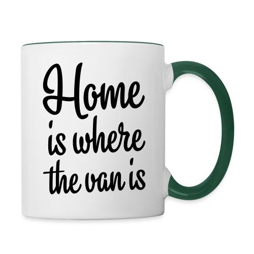 Home is where the van is - Autonaut.com - Contrasting Mug