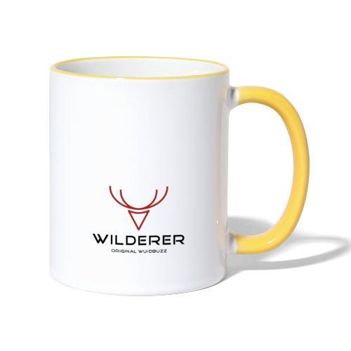 WUIDBUZZ   Wilderer   Männersache - Tasse zweifarbig