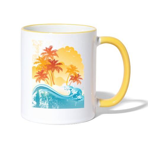 Palm Beach - Contrasting Mug