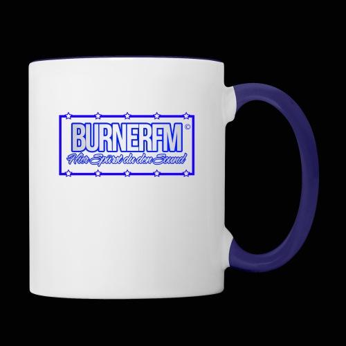 BurnerFM Hier Sürst du den Sound - Tasse zweifarbig