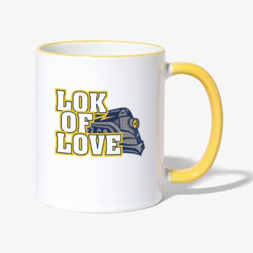 LOK OF LOVE 1 - Tasse zweifarbig