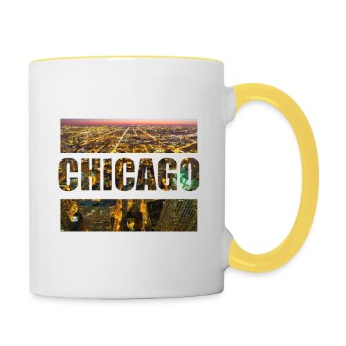 Chicago - Tasse zweifarbig