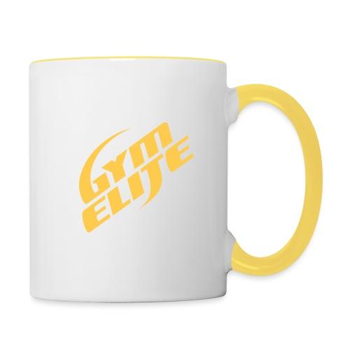 gym elite - Contrasting Mug