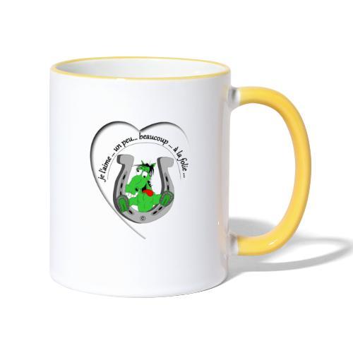 cheval comic FS - Mug contrasté