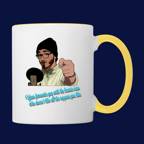 Your Favourite Beanie Man - Contrasting Mug