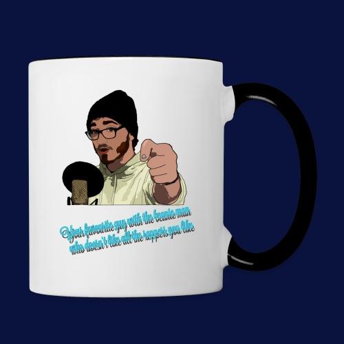 Your Favourite Beanie Man - Contrasting Mug