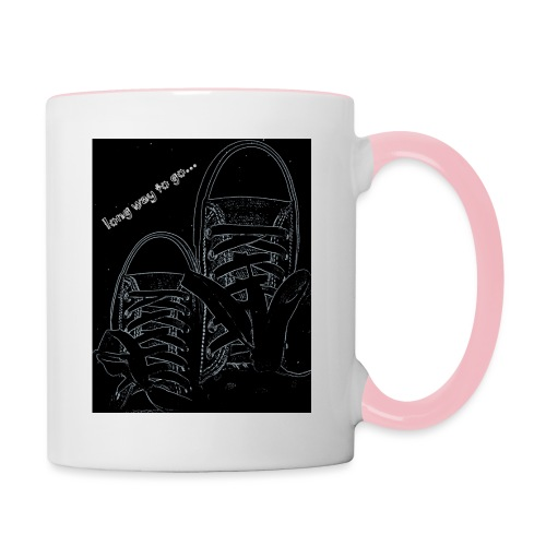 Long way to go - Contrasting Mug