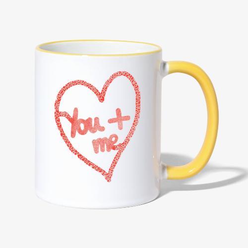 You and me - Mug contrasté