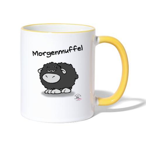 Tasse Olaf Morgenmuffel - Tasse zweifarbig